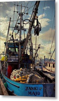 Alaska Yankee Maid Trawler Metal Print