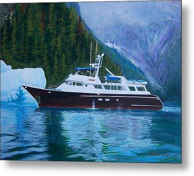 Alaskan Cruise Metal Print
