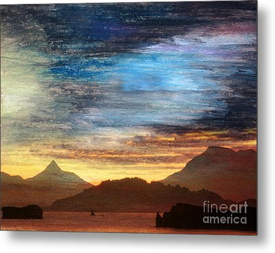 Alaskan Evening Metal Print by R Kyllo