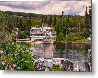 Metal Print featuring the photograph Alaskan Sternwheeler The Riverboat Discovery by Michael Rogers