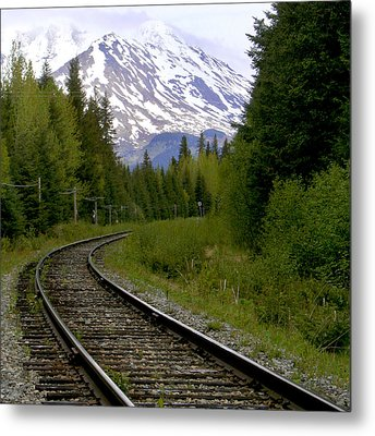 Alaskan Tracks Metal Print by Art Block Collections