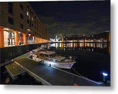 Albert Dock Liverpool Metal Print by Wayne Molyneux