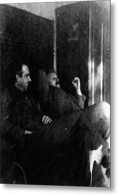 Albert Einstein Metal Print by American Philosophical Society