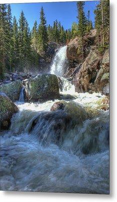 Alberta Falls Metal Print