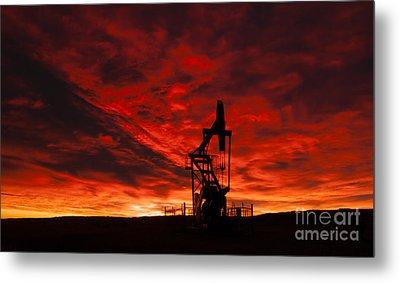 Alberta Sunrise Metal Print