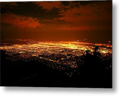 Albuquerque New Mexico  Metal Print by Jeff Swan