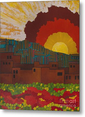 Albuquerque Nm Metal Print
