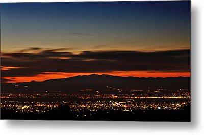 Albuquerque Sunset Metal Print