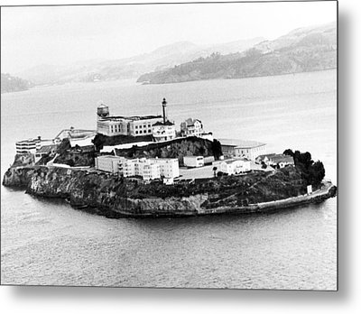 Alcatraz All Alone Metal Print by Retro Images Archive
