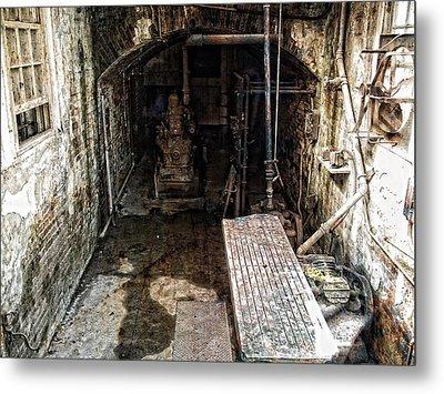 Alcatraz Island Morgue Metal Print by Daniel Hagerman