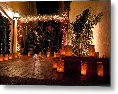 Alcove Illuminated Metal Print