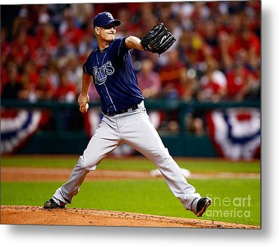 Alex Cobb #53 Metal Print