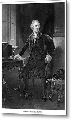 Alexander Hamilton Metal Print by Historic Image