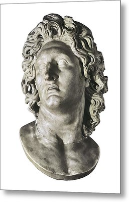Alexander The Great 356-323 Bc. King Metal Print