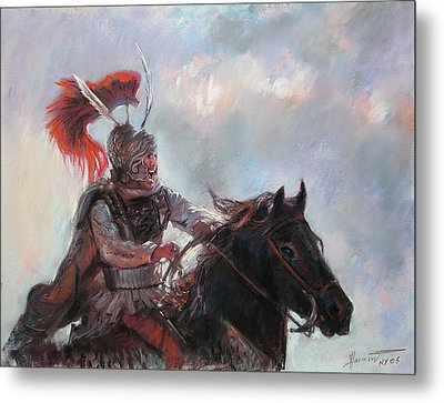 Alexander The Great  Metal Print by Viola El