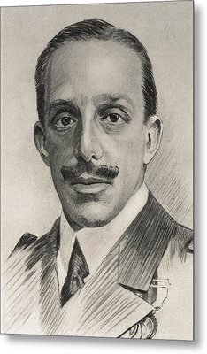 Alfonso Xiii 1886-1941. King Of Spain Metal Print by Everett