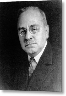 Alfred Adler Metal Print by National Library Of Medicine