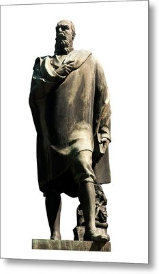 Metal Print featuring the photograph Alfredo Oriani by Fabrizio Troiani