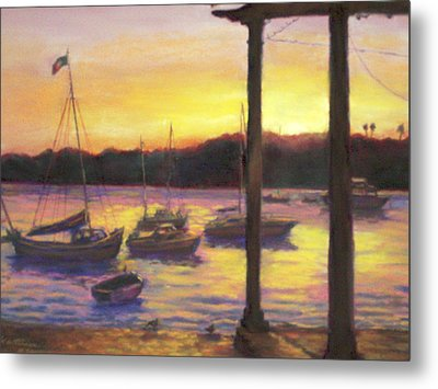 Algarve Sunset Metal Print