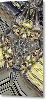 Algorithmic 1 Metal Print by Ron Bissett