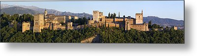 Metal Print featuring the photograph Alhambra Palace - Panorama by Nathan Rupert