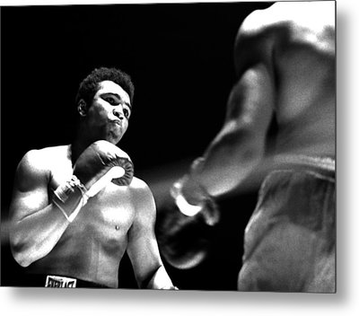 Ali - The Look Metal Print