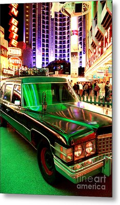 Alice Cooper's Hearse Metal Print