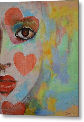 Alice In Wonderland Metal Print by Michael Creese