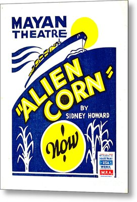 Alien Corn 1938 Metal Print by Padre Art