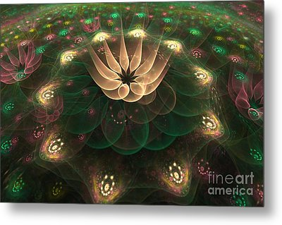 Alien Flower Metal Print by Svetlana Nikolova