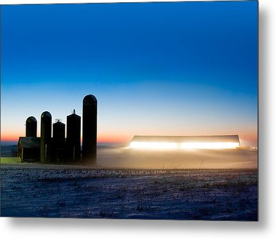 Alien Twilight Metal Print by Todd Klassy