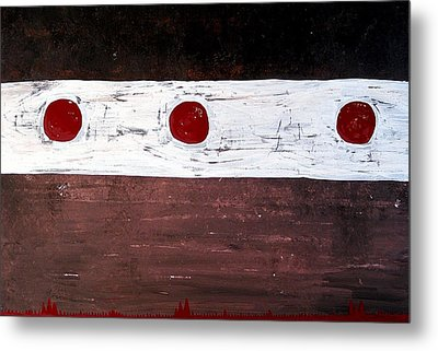 Alignment Original Painting Metal Print