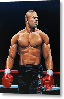 Alistair Overeem Metal Print