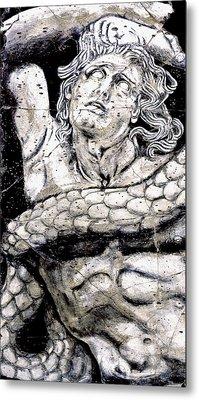 Alkyoneus - Detail No. 1 Metal Print by Steve Bogdanoff
