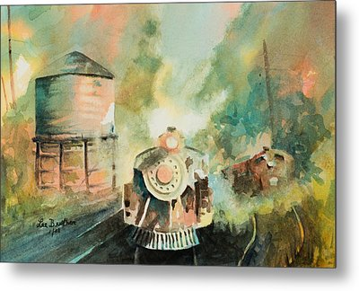 All Aboard Metal Print by Lee Beuther