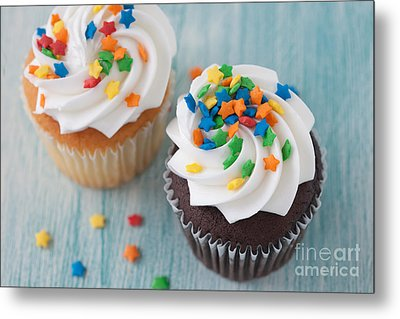 All About The Sprinkles Metal Print by Kay Pickens