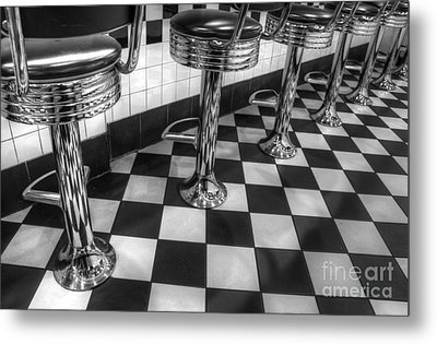 All American Diner Metal Print by Bob Christopher