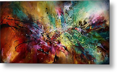 'all At Once' Metal Print by Michael Lang
