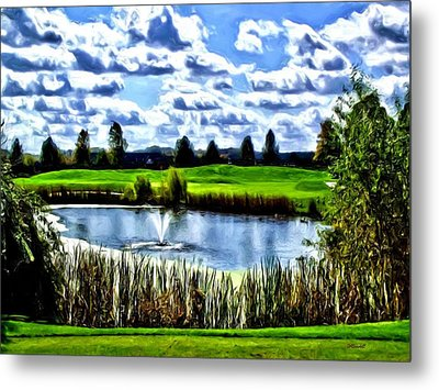 Metal Print featuring the photograph All Carry by Dennis Lundell