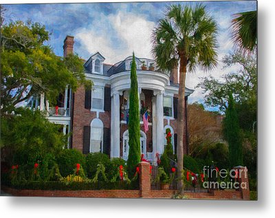All Decorated Up For Christmas Metal Print by Dale Powell