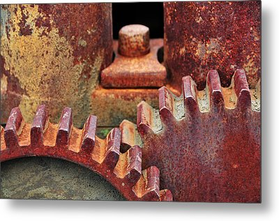 All Geared Up Metal Print by Mike Martin