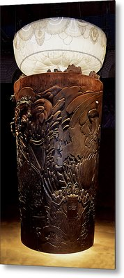 All Hail More Ale  Guinness Totem Metal Print by Richard Ortolano