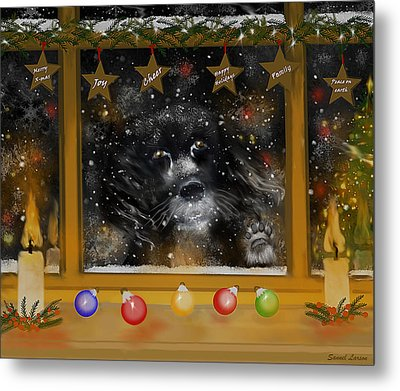 All I Want For Christmas Is A Loving Home Metal Print