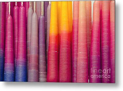 All In A Row Metal Print by Wanda Krack