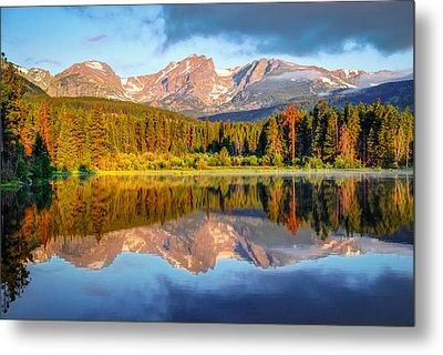 All Is Calm - Rocky Mountain National Park Metal Print