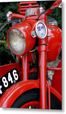 All Original English Motorcycle Metal Print