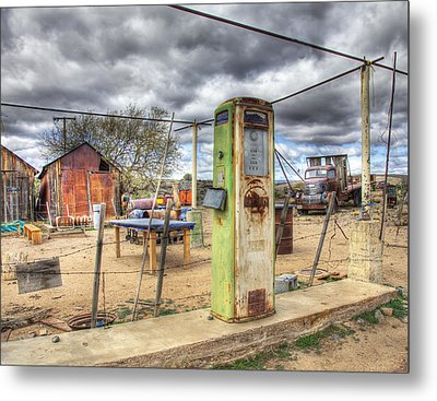All Out Of Gas Metal Print