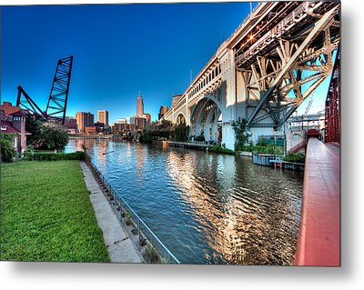All Roads Lead To Cleveland Metal Print