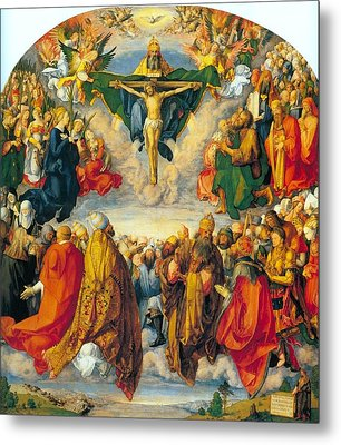 All Saints 1511 Metal Print by Philip Ralley