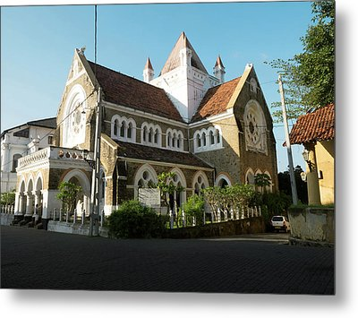 All Saints Church, Church Street, Galle Metal Print by Panoramic Images